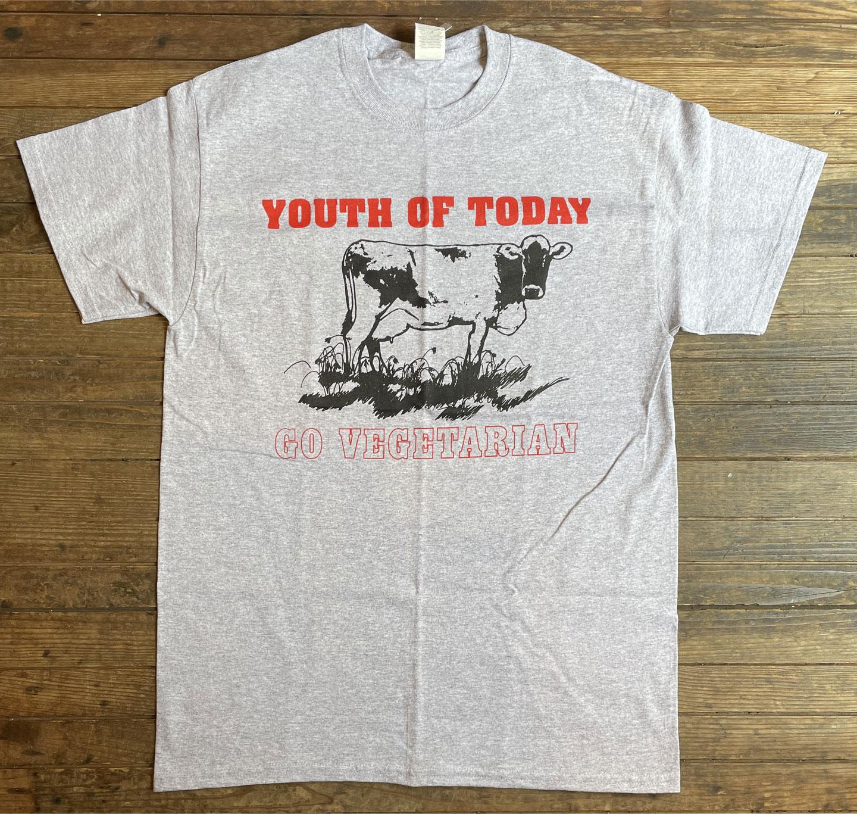 YOUTH OF TODAY Tシャツ GO VEGETALIAN