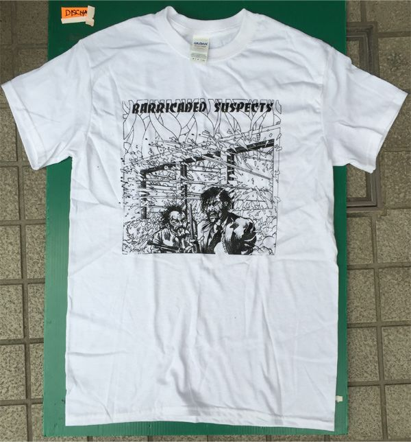 BARRICADE SUSPECTS Tシャツ LP