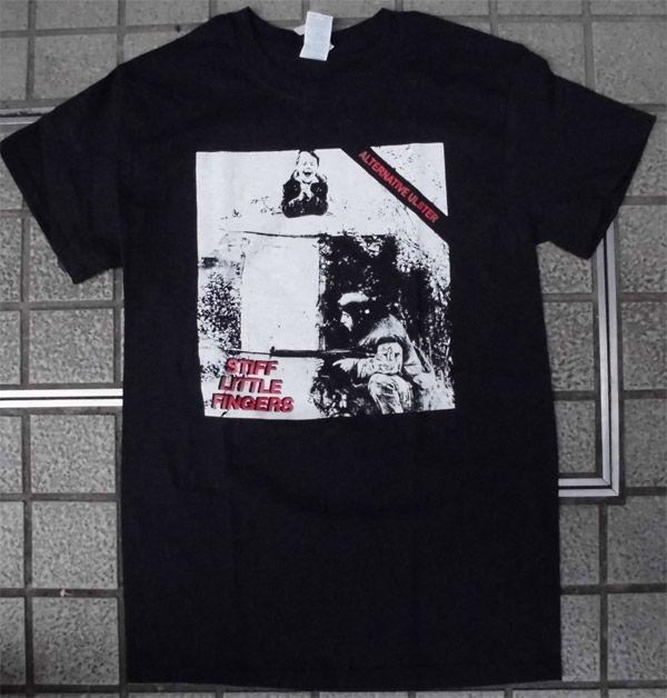 STIFF LITTLE FINGERS  Tシャツ ALTERNATIVE ULSTAR