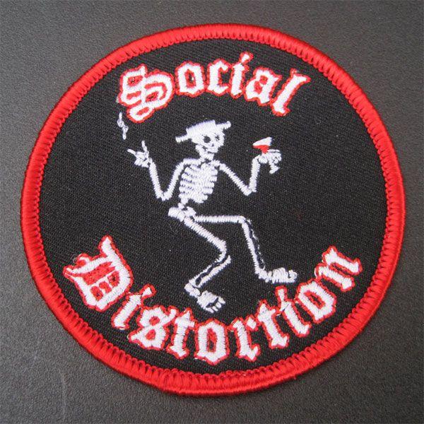 SOCIAL DISTORTION ワッペン CIRCLE 1