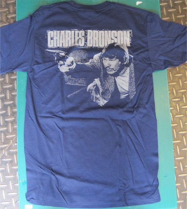 CHARLES BRONSON Tシャツ TWO SIDE