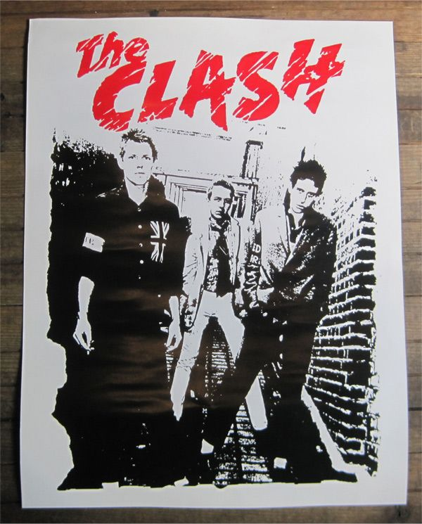 THE CLASH ポスター