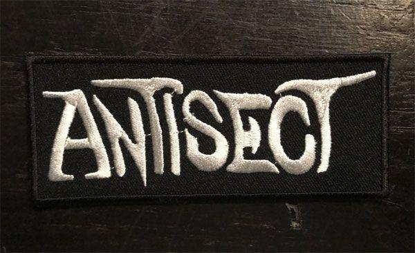 ANTISECT 刺繍ワッペン ネームロゴ