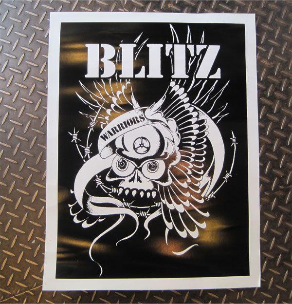 BLITZ ポスター
