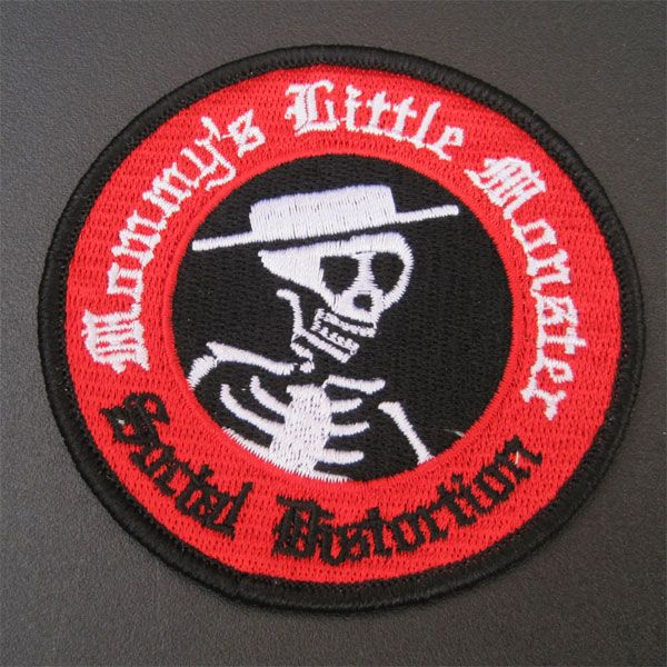 SOCIAL DISTORTION 刺繍ワッペン MOMMY'S