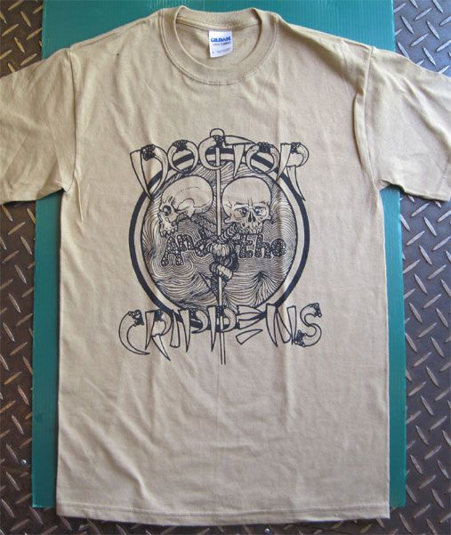 DOCTOR AND THE CRIPPENS Tシャツ LIVE