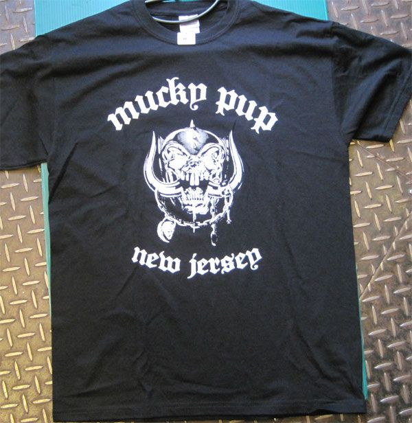 MUCKY PUP Tシャツ NEW JERSEY