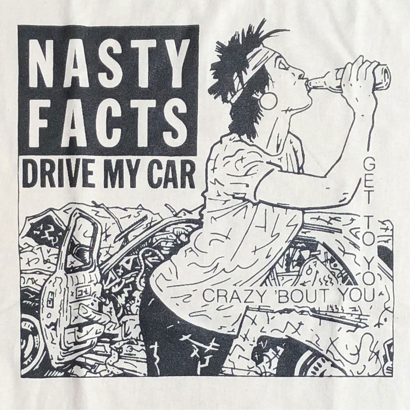 NASTY FACTS Tシャツ DRIVE MY CAR