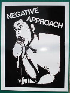 NEGATIVE APPROACH  ポスター