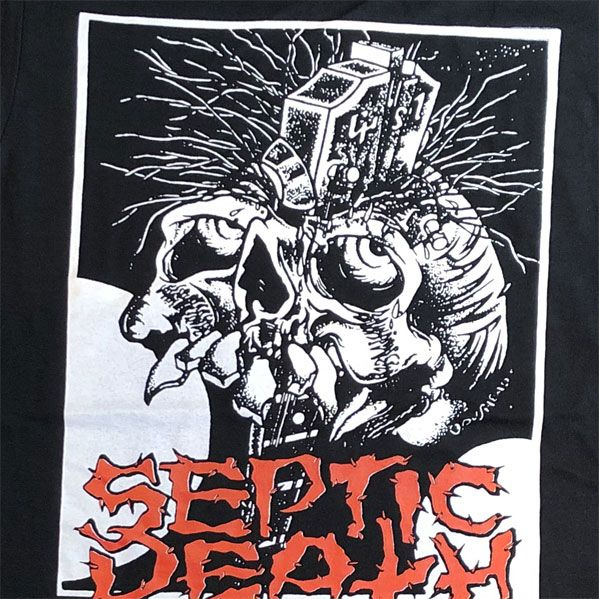 SEPTIC DEATH Tシャツ Somewhere In Time