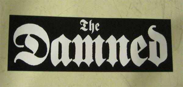 DAMNED ステッカー ロゴ2