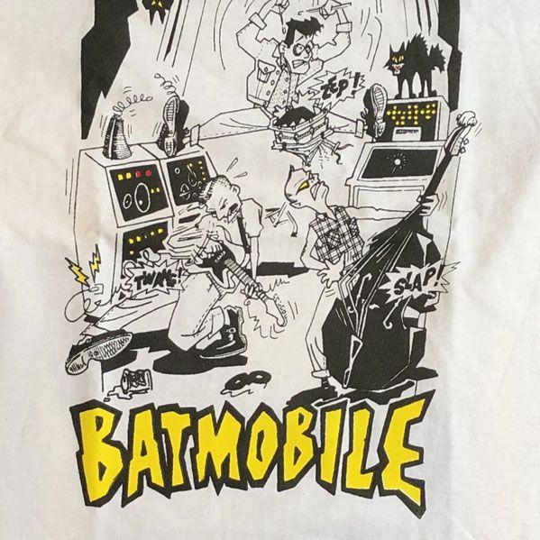 BATMOBILE Tシャツ イラスト