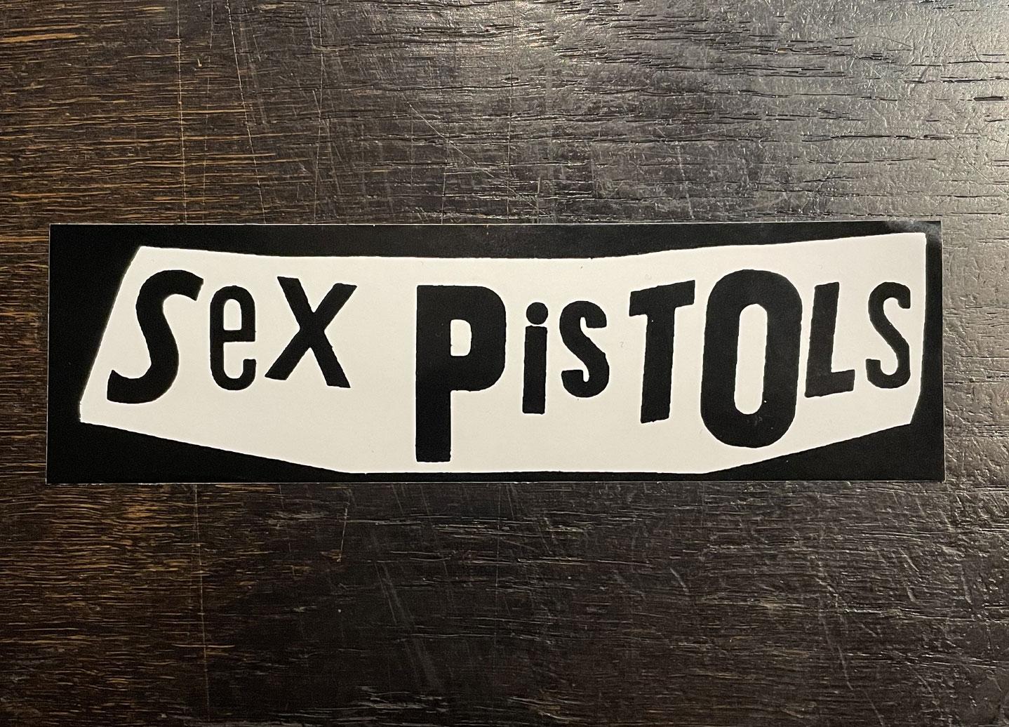 SEX PISTOLS ステッカー LOGO