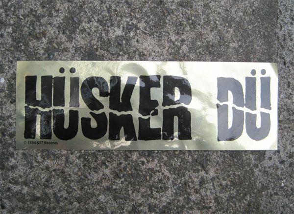 HUSKER DU ステッカー