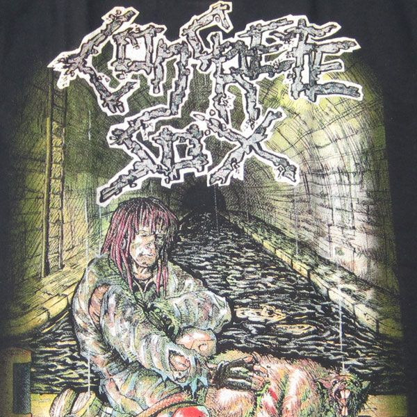 CONCRETE SOX Tシャツ Sewerside