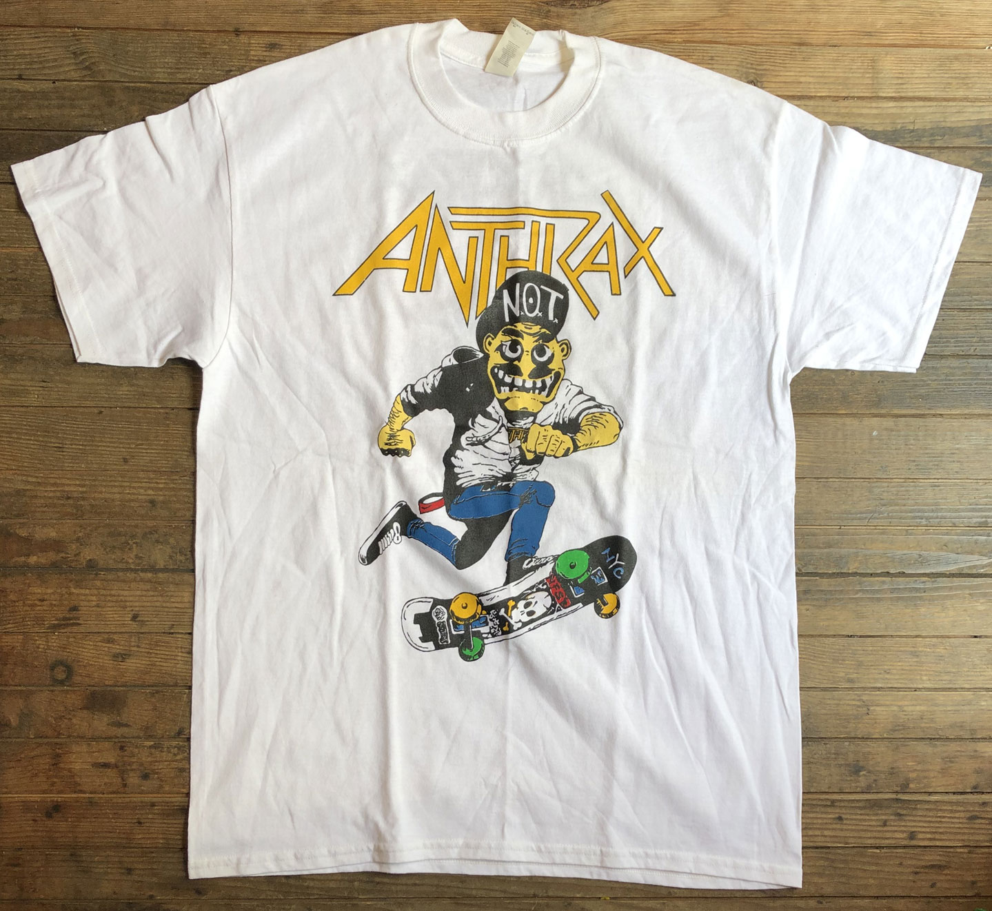 USED! ANTHRAX Tシャツ SKATE