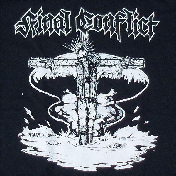 FINAL CONFLICT Tシャツ 十字架2