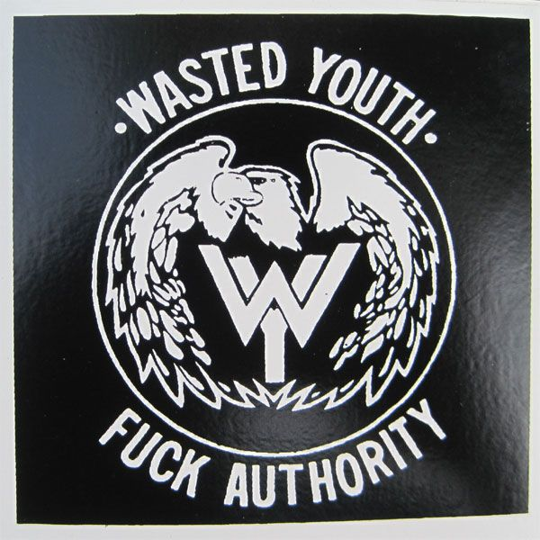 WASTED YOUTH ステッカー レア