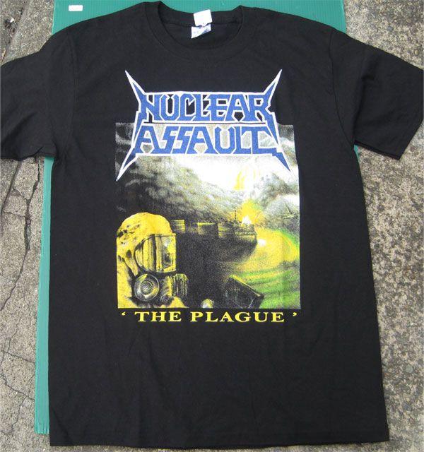 NUCLEAR ASSAULT Tシャツ THE PLAGUE
