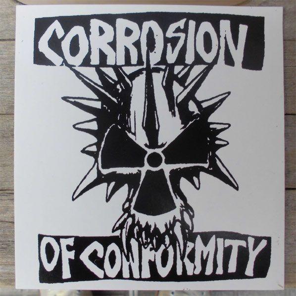 Corrosion of conformity ステッカー EYE FOR AN EYE