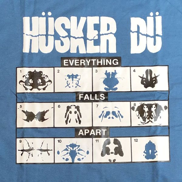HUSKER DU Tシャツ EVERYTHING FALLS APART