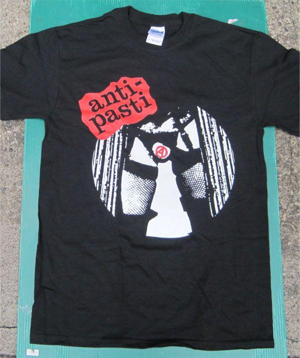 ANTI-PASTI Tシャツ NO GOVERNMENT