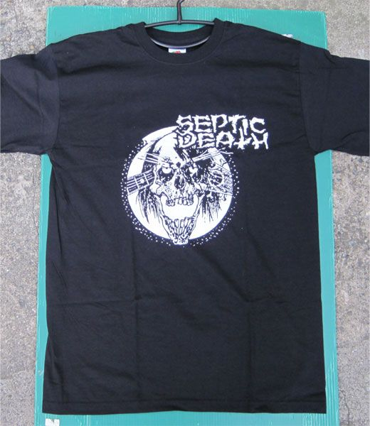 SEPTIC DEATH Tシャツ 両面プリント