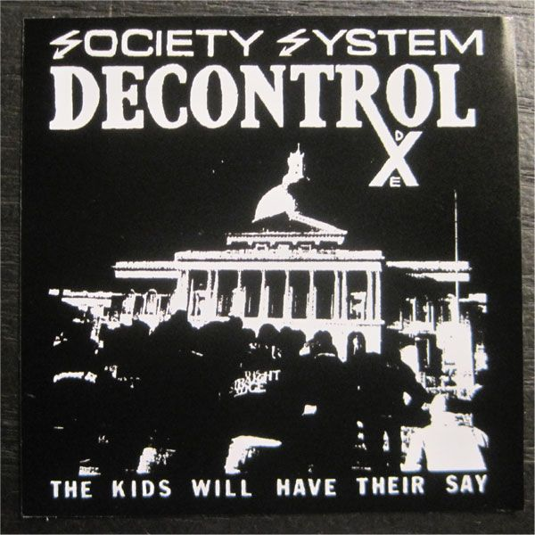 SSD  ステッカー THE KIDS WILL HAVE THEIR SAY