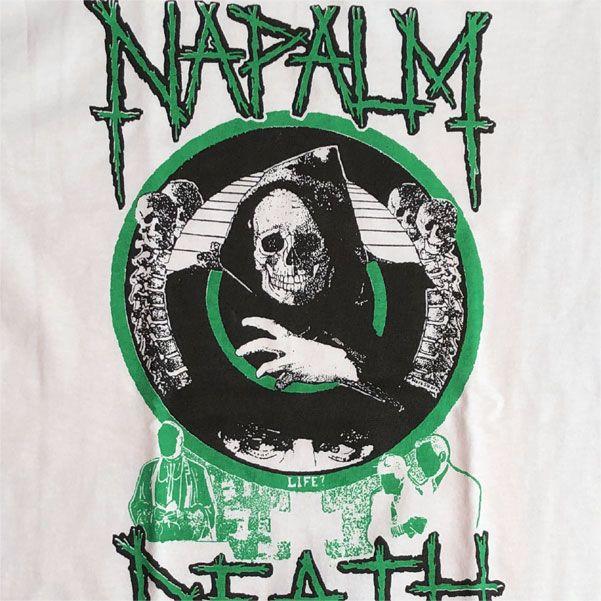 NAPALM DEATH Tシャツ LIFE?5
