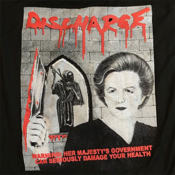 DISCHARGE Tシャツ WARNING