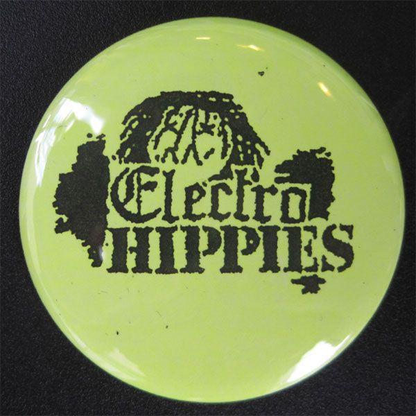 ELECTRO HIPPIES デカバッジ