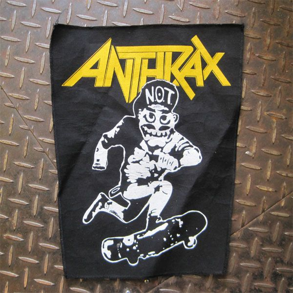 ANTHRAX DEADSTOCK BACKPATCH NOTMAN