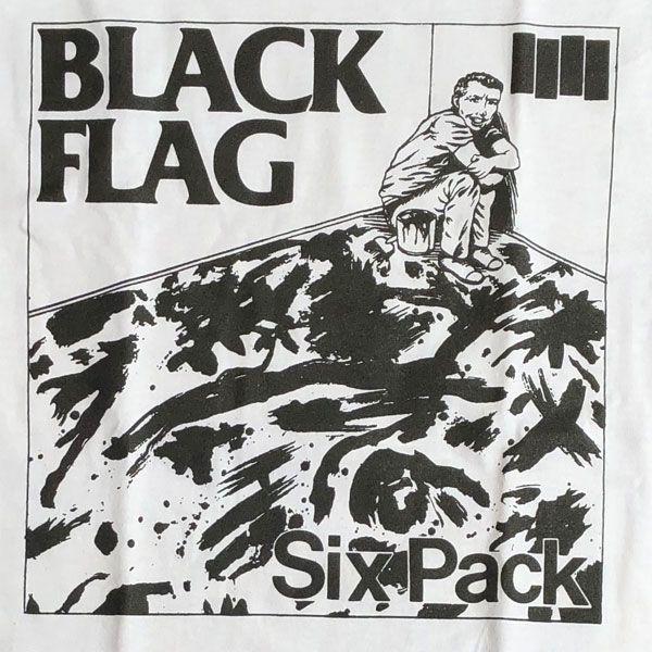 BLACK FLAG Tシャツ SIX PACK