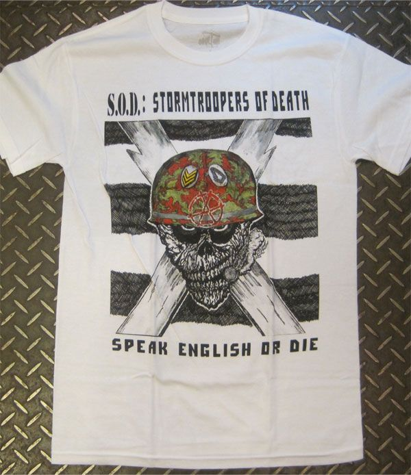 S.O.D. Tシャツ STORMTROOPERS OF DEATH