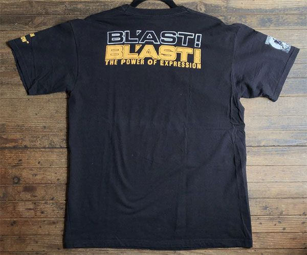 USED! BL'AST! Tシャツ THE POWER OF EXPRESSION