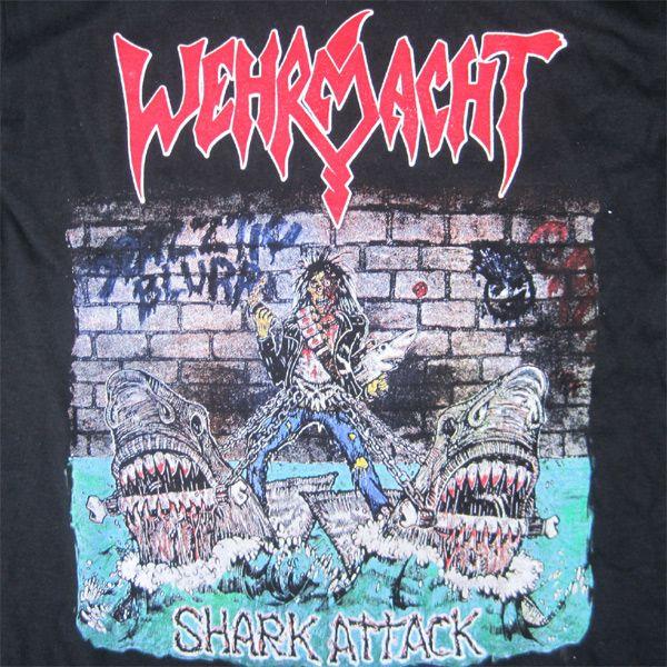 WEHRMACHT Tシャツ SHARK ATTACK