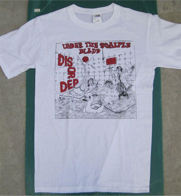 DISORDER Tシャツ UNDER THE SCALPLE BLADE