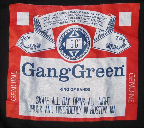 GANG GREEN Tシャツ KING OF BAND