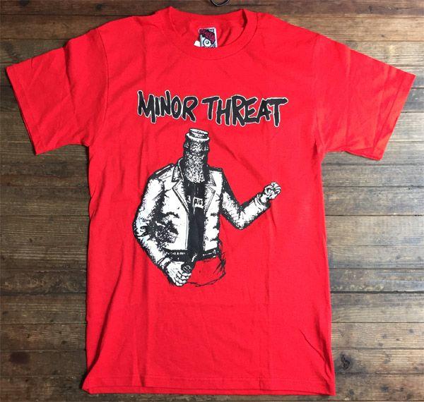 MINOR THREAT Tシャツ BOTTLED VIOLENCE オフィシャル!