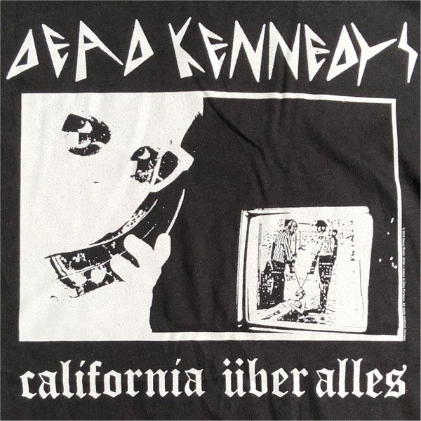 DEAD KENNEDYS Tシャツ california über alles オフィシャル!