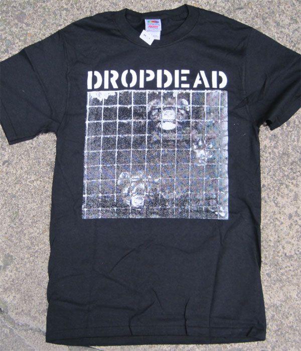 DROPDEAD Tシャツ ANIMAL