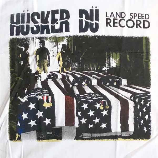 HUSKER DU Tシャツ LAND SPEED RECORD OFFICIAL!