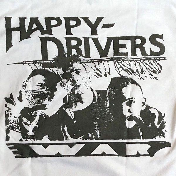 HAPPY DRIVERS Tシャツ WAR