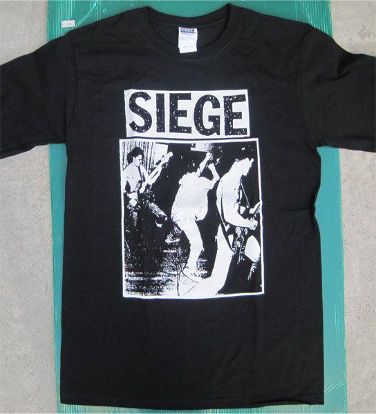 SIEGE Tシャツ PHOTO&LOGO
