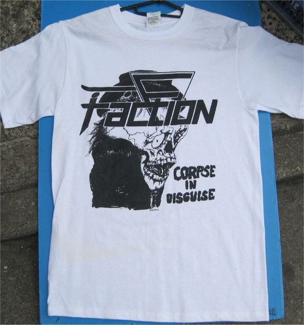 FACTION Tシャツ CORPSE IN DISGUISE