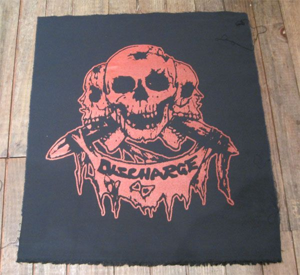 DISCHARGE BACKPATCH PRICE OF SILENCE