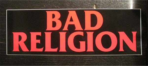 BAD RELIGION ステッカー LOGO 2
