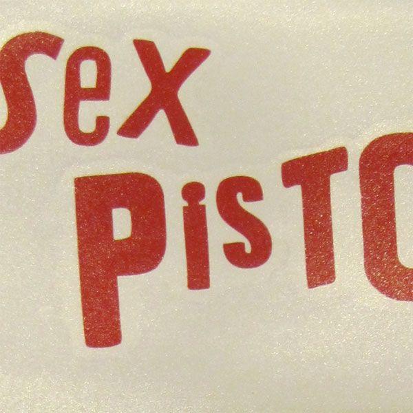 SEX PISTOLS ウィンドーステッカー