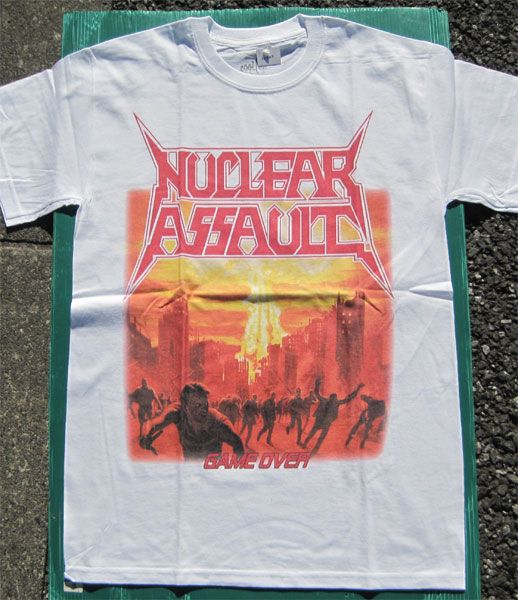 NUCLEAR ASSAULT Tシャツ GAME OVER 2