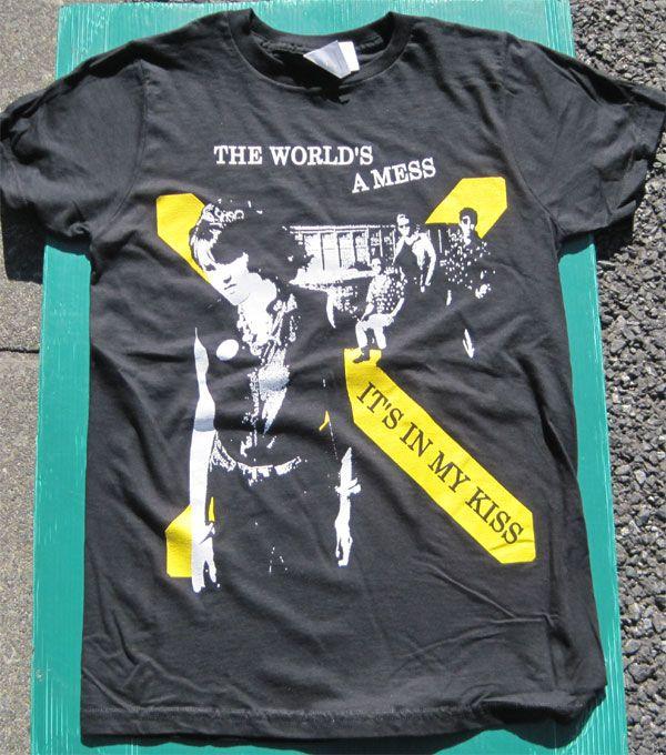 X Tシャツ IT'S IN MY KISS
